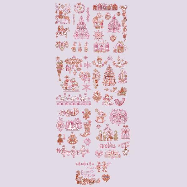 Вышивка крестом парижские вышивальщицы схемы