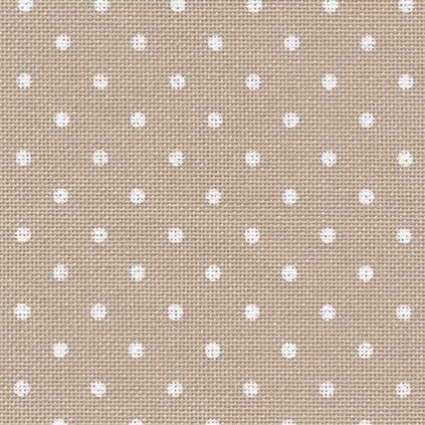 32 ct Murano Petit Point 3984/7309 Beige bis / white dots