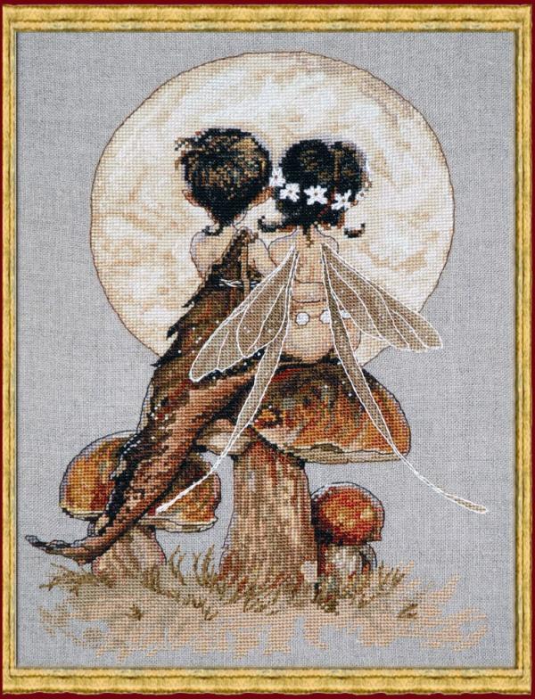 Когда начинать вышивку по луне