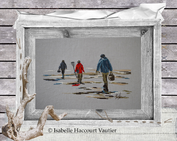 Isabelle Vautier - PORT 24 A maree basse