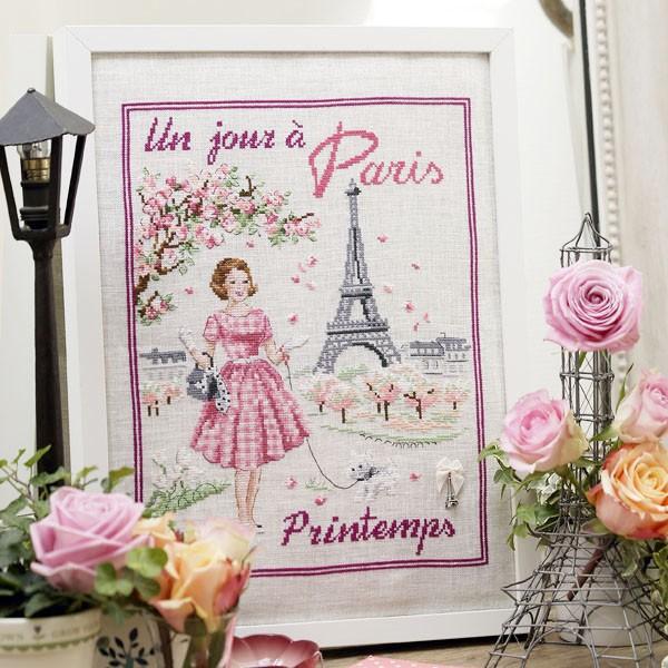 Весенний день в Париже / Un