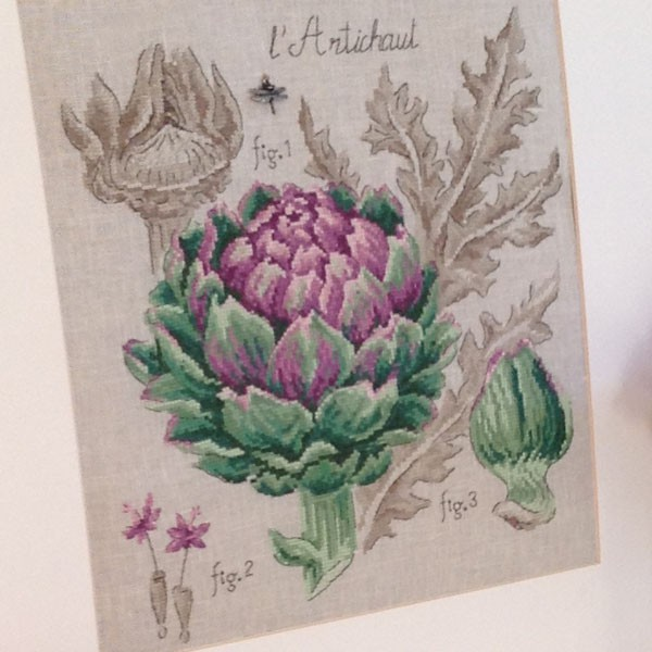 Французские вышивки ботаника