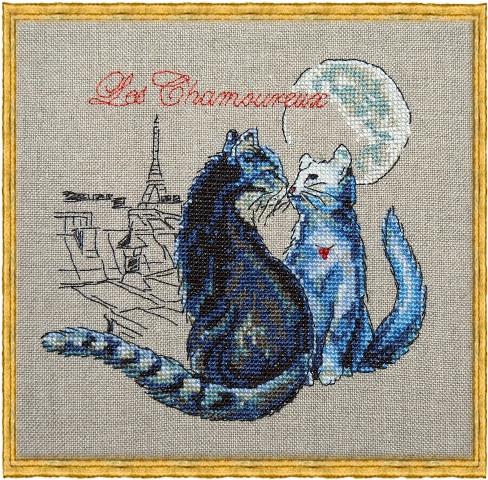 Les Chamoureux, Nimue, вышивка